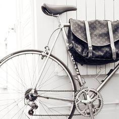 Vintage Louis Vuitton Postman Bike Bag