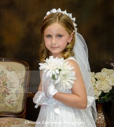 White Communion Dress, Holy Communion Dresses, First Communion Veils, First Holy Communion, Dresses For Sale, Dresses Online, Star Wars Watch, Shops, Dress With Bow