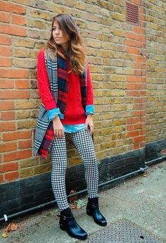 Trendiest Prints of the Season: Houndstooth  #fashiontrends #houndstooth #prints