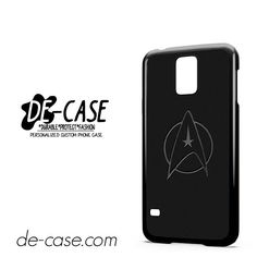 Star Trek Logo Black DEAL-9941 Samsung Phonecase Cover For Samsung Galaxy S5 / S5 Mini
