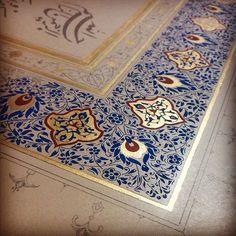 pp Islamic Art Pattern, Pattern Art, Islamic Calligraphy, Calligraphy Art, Arabesque Pattern, Turkish Art, Illuminated Manuscript, Design Crafts, Illustrations
