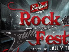 Rock Fest held every July in Cadott, WI, is the Midwest's most awesome 4-day rock festival.  The 2012 lineup features artists like Shinedown, Godsmack, Five Finger Death Punch and Iron Maiden just to name a few.  Tickets are available online or at the gate: http://www.rock-fest.com/ to order tickets.  Follow Rock Fest on Facebook for chances to win free tickets!