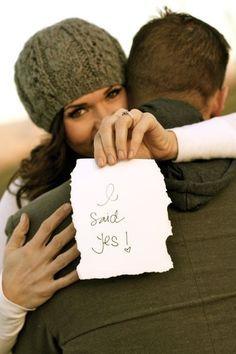 cute engagement photo :] #timelesstreasure