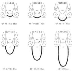 Charming Charlie | Necklace Cheat Sheet & Guide | BellDora Fashions