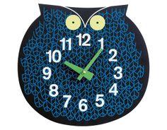 Настенные часы Zoo, пластик, дизайнер Джордж Нельсон, Vitra.