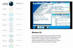 A evolução do Windows em 10 momentos