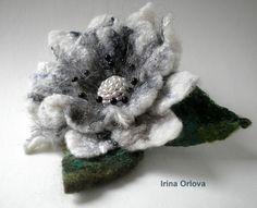 Felt Flower by Irina Orlova ♥