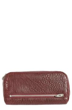 Alexander Wang 'Fumo' Lambskin Leather Pouch Wallet