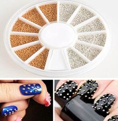 1 Set Pleasing Popular 3D Acrylic Rhinestone Nail Art Wheels Manicure Primer Case Fashion NonToxic Pattern Style 07 ** Check out this great product.