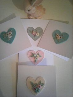 Felt mothers day cards