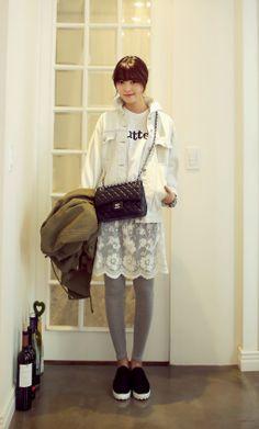 #dahong #lace #leggings #다홍 #레깅스 #치렝스 #레이스