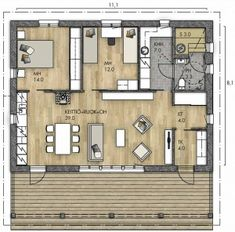 Floor Plans, Cottage, House, Home, Cottages, Cabin, Homes, Floor Plan Drawing, Houses