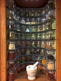 Kitchen Geeks: Build This Periodic Table of Spices Rack. (This is my perfect spice rack. Kitchen Geeks: Build This Periodic Table of Spices Rack ( if this was life size, like a walk in closet, it would be awesome! Make a Periodic Table of Spices Rack. Clever Kitchen Storage, Kitchen Storage Solutions, Kitchen Organization, Organization Ideas, Storage Ideas, Food Storage, Workshop Organization, Spice Rack Organization, Tea Storage