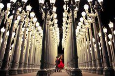 Dancing in LA {Los Angeles County Museum of Art} - via Take Me To Heaven