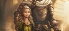 """A Game of Thrones - Myrcella by TheFirstAngel.deviantart.com on @deviantART """"Myrcella never shed a tear, though it was she who was leaving hearth and home to seal an alliance with her maidenhood. The truth was, the princess was braver than her brother, and brighter and more confident as well. Her wits were quicker, her courtesies more polished. Nothing ever daunted her, not even Joffrey. The women are the strong ones, truly."""""""