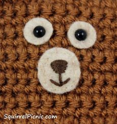Paint your own safety eyes for amigurumi crafty pinterest how to add faces to your amigurumi safety eyes with embroidered nose and mouth ccuart Image collections