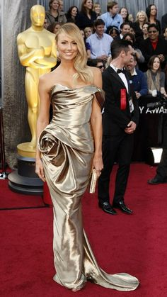 Stacy Keibler in Marchesa [Oscar 2012]