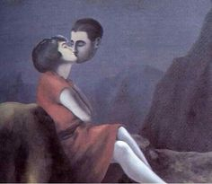 """""""Love From a Distance"""", by René Magritte."""