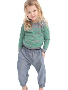 Shop American Apparel - Find fashionable basics for men, women, children, and babies. Made in USA clothing. American Made Clothing, American Apparel, Niece And Nephew, To My Daughter, Knitting For Kids, Striped Knit, Kids Fashion, Future Children, Sweaters
