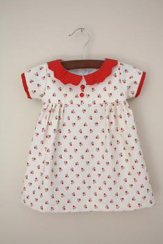 Learn how to make a dress for girls that will be passed down for years to come. You can learn how to make clothing for your little baby with this Vintage Heirloom Dress. This piece includes a tiny bodice embellished with buttons and a cute collar.