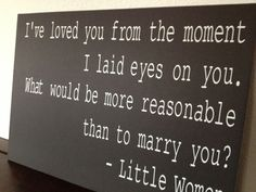 Little Women Quote Wedding Sign by IDoSignDesigns on Etsy