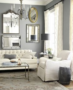 Tailored Living Room from Ballard Designs
