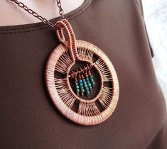 Copper Wire Jewelry Designs | Sparkflight's Amazing Wire Jewelry and Sculptures