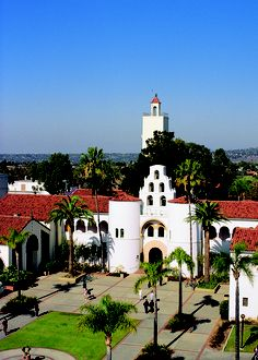 A 2013 Gilman Awardee is from San Diego State University. http://www.topchristiancolleges.org/california.html