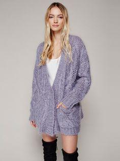 abd481641fd 164 Best Purple Cardigan images in 2019 | Knitting, Purple cardigan ...
