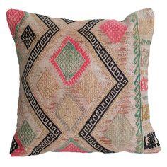 Gypsy Kilim Pillow IV - bohemian decor
