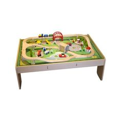 Jigs Wooden Rail Services Train Set And Table Available In At Giddy