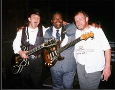 Stevie Ray Vaughan, BB King & Joe Cocker Blessed to see Stevie & Joe play  '90...greatest show ever!