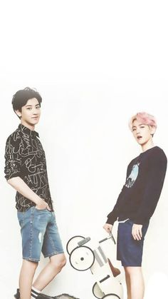 Imagem de exo, chanyeol, and chanbaek