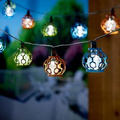 String Lights Home Depot Alluring Cornelius Lantern Solar String Light Set With Stake 20Piece Decorating Inspiration