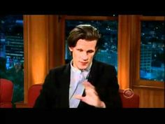 Not only does he play the Doctor... He's east coast, not west coast. Likes Biggie over Tupac. I'm in love.   Doctor Who - The Craig Ferguson Show (29/07/11) - Matt Smith