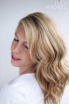 Hair Romance - soft loose waves hair tutorial