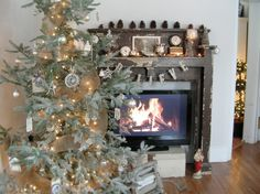 Great idea for apartments or homes that do not have a real fire place