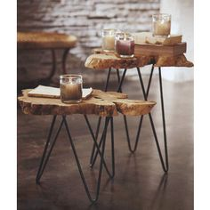 tree stump end tables - Google Search