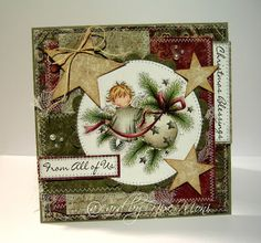 LOTV - Christmas Angel - Round Bauble - http://www.liliofthevalley.co.uk/acatalog/Stamp_-_Christmas_Angel_-_Round_Bauble.html