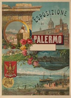 did you know that the area where Hotel Principe di Villafranca rises was the seat to the magnificent structure that hosted the 1891-1892 Italian National Exhibition that took place in Palermo?