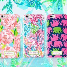 I so wish they had these in jungle tumbler print.  NEW Lilly Pulitzer iPhone 6 & 6 Plus Cases