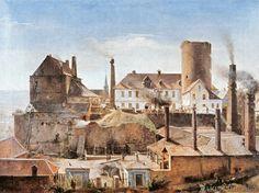 Alfred Rethel - Die Harkortsche Fabrik auf Burg Wetter an der Ruhr