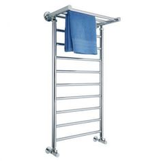 towel heater with shelf