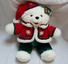 Dan Dee Collector's Choice Snowflake Friends Teddy Bear Christmas 2004 NEW NWT