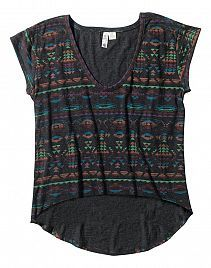Would be SO cute with a colorful tank under it. <3