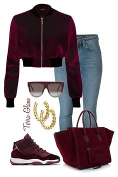 Velvets by terra-glam on Polyvore featuring polyvore, fashion, style, River Island, Yves Saint Laurent, CÉLINE and clothing