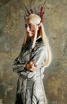 "Dragon fire by MeiCosplay.deviantart.com on @deviantART - Thranduil from ""The…"