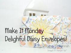 Make It Monday | TeaBag Envelopes – StampinbyHannah – Stampin Up! UK Demonstrator – SHOP ONLINE 24/7