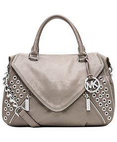MICHAEL Michael Kors Handbag, Odette Grommet Satchel