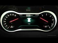 Car instrument cluster for premium dashboard